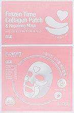Духи, Парфюмерия, косметика Восстанавливающая маска с патчами 2в1 для лица - Konad Iloje Frozen Time Collagen Patch & Repairing Mask
