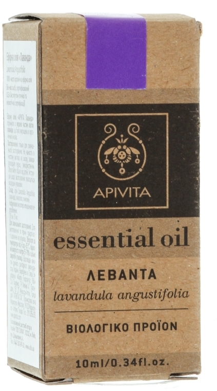"Эфирное масло ""Лаванда"" - Apivita Aromatherapy Organic Lavender Oil"