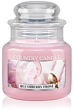 Духи, Парфюмерия, косметика Ароматическая свеча (банка) - Country Candle Blushberry Frosé