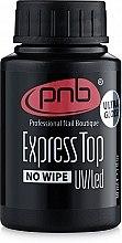 Парфумерія, косметика Експрес топ без липкого шару  - PNB Express Top NoWipe
