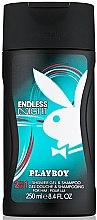Духи, Парфюмерия, косметика Playboy Endless Night - Гель для душа