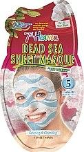 "Духи, Парфюмерия, косметика Тканевая маска для лица ""Минералы мертвого моря"" - 7th Heaven Dead Sea Sheet Mask"