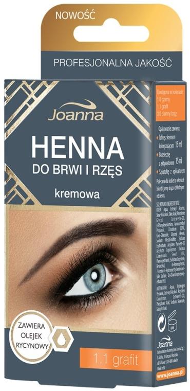 Краска для бровей и ресниц - Henna