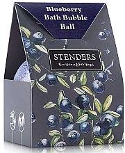 """Духи, Парфюмерия, косметика Бурлящий шар для ванны """"Черничный"""" в упаковке - Stenders Blueberry Bath Bubble Ball In A Costom-Designed Box"""
