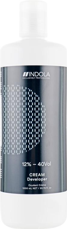 Крем-проявник 12% - 40 vol - Indola Profession Cream Developer 12% - 40 vol — фото N1