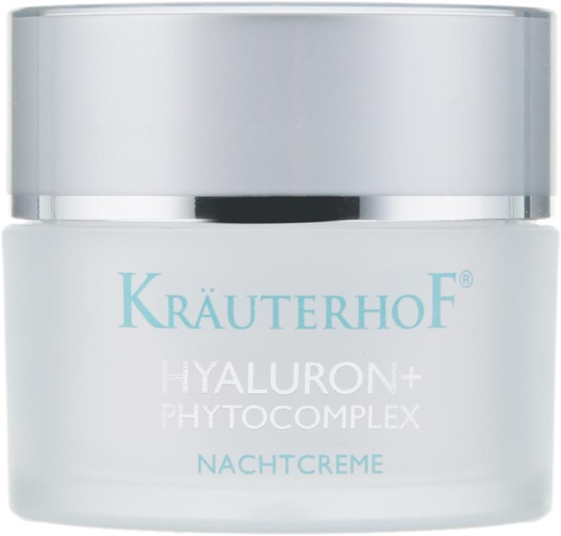 Крем ночной с фитокомплексом и гиалуроновой кислотой - Krauterhof Hyaluron Phytocomplex Night Cream