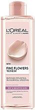 Духи, Парфюмерия, косметика Тоник для сухой и чувствительной кожи - L'Oreal Paris Skin Expert Fine Flowers Toner