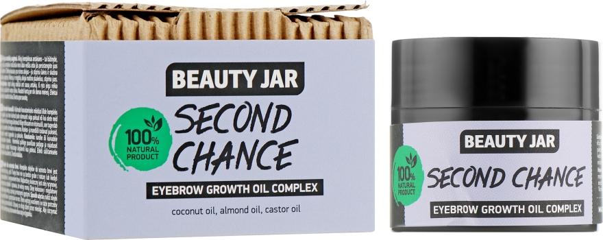 Масляный комплекс для роста бровей - Beauty Jar Second Chance Eyebrow Growth Oil Complex
