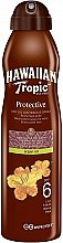 Духи, Парфюмерия, косметика Сухое масло для загара - Hawaiian Tropic Protective Dry Oil Continuous Spray Aragan Oil SPF 6
