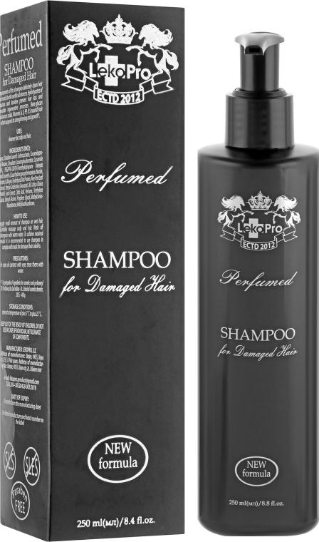 Шампунь парфюмированный для поврежденных волос - LekoPro Perfumed Shampoo For Demaged Hair
