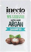 Духи, Парфюмерия, косметика Увлажняющий шампунь для волос с аргановым маслом - Inecto Naturals Argan Shampoo (пробник)