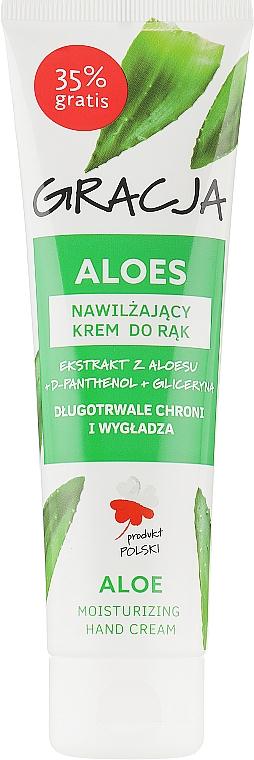 Увлажняющий крем для рук с экстрактом алоэ - Gracja Aloe Hand Cream