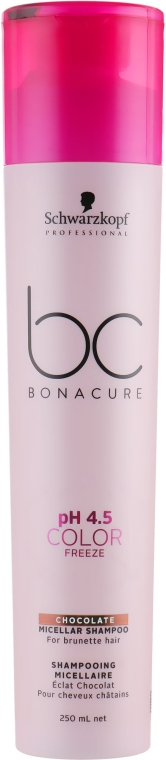 Шампунь для волос - Schwarzkopf Professional Bonacure pH 4.5 Color Freeze Chocolate Shampoo