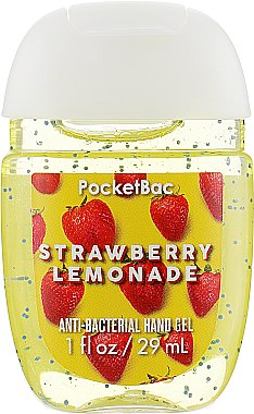 """Антибактериальный гель для рук """"Strawberry Lemonade"""" - Bath and Body Works Anti-Bacterial Hand Gel"""