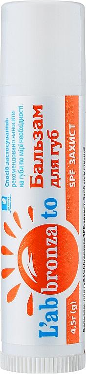 Бальзам для губ SPF-защита - Красота и Здоровье L'Abbronzato