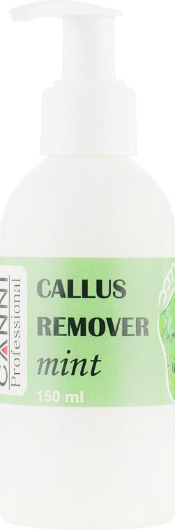 "Препарат для удаления ороговевшей кожи и мозолей ""Мята"" - Canni Callus Remover Mint"