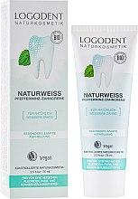 Духи, Парфюмерия, косметика БИО-паста зубная отбеливающая - Logona Logodent Naturweiss Peppermint Toothpaste