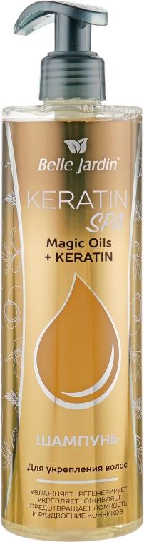 Шампунь для укрепления волос - Belle Jardin Keratin SPA Magic Oil