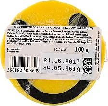 """РАСПРОДАЖА Глицериновое мыло """"Желтый смайлик"""" - Organique Soaps * — фото N2"""