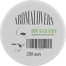 Духи, Парфюмерия, косметика Натуральный сахарно-солевой скраб с маслом грейпфрута и витамином Е - Aromalovers Body Sugar Scrub