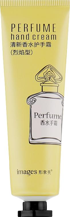 Парфюмированный крем для рук с чаем - Bioaqua Images Perfume Hand Cream Yellow