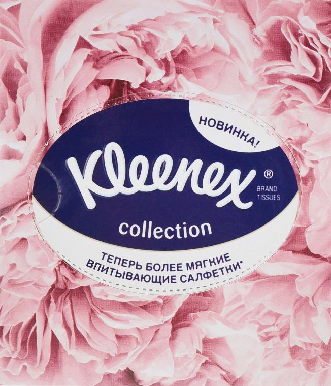 """Салфетки в коробке """"Collection"""", 100 шт., лепестки - Kleenex"""