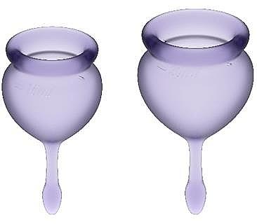 Набор менструальных чаш, фиолетовый - Satisfyer Feel Good Menstrual Cup Lila