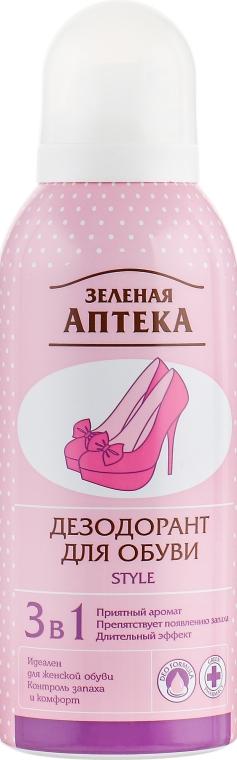 Женский дезодорант для обуви - Зеленая аптека