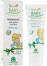 Духи, Парфюмерия, косметика Зубная паста «Жевательная резинка» - Natura House Baby Cucciolo Toothpaste