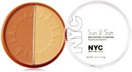 Духи, Парфюмерия, косметика Бронзирующая пудра - NYC Sun 2 Sun Bronzing Powder