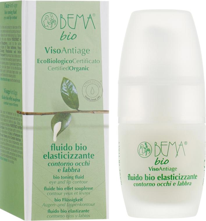 Лосьон тонизирующий для контура глаз и губ - Bema Cosmetici Face Antiage Bio Toning Fluid