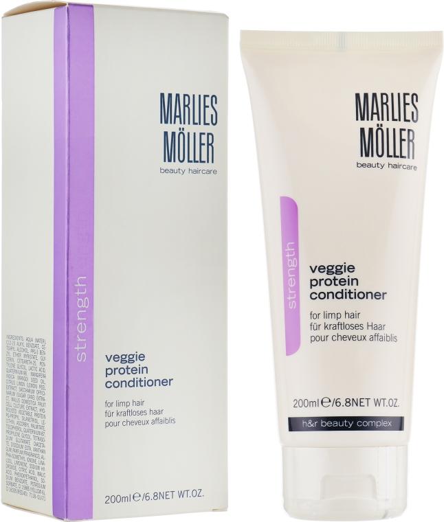 Кондиционер для ослабленных волос на основе растительного протеина - Marlies Moller Strength Veggie Protein Conditioner