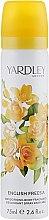 Духи, Парфюмерия, косметика Дезодорант - Yardley English Freesia Body Spray