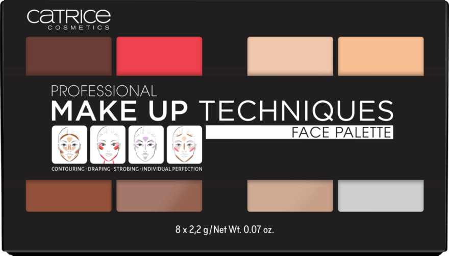 Профессиональная палетка для лица - Catrice Professional Make Up Techniques Face Palette