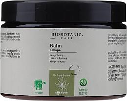 Духи, Парфюмерия, косметика Бальзам для волос с маслом семян конопли - BioBotanic Silk Wave Hemp Balm