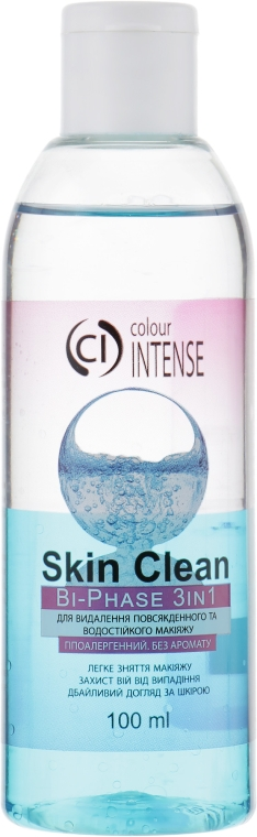 Двухфазное средство для демакияжа - Colour Intense Skin Clear Bi-Phase 3in1