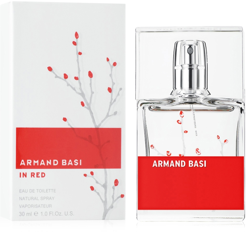 Armand Basi In Red - Туалетная вода — фото N3