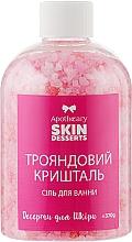 """Духи, Парфюмерия, косметика Соль для ванны """"Розовый хрусталь"""" - Apothecary Skin Desserts"""