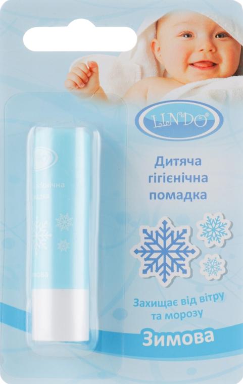 """Гигиеническая помада """"Зимняя"""" - Lindo"""