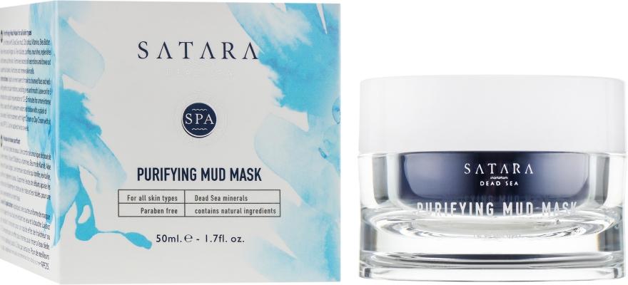 Очищающая грязевая маска - Satara Dead Sea Purifying Mud Mask