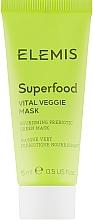 Духи, Парфюмерия, косметика Энергетическая питательная маска - Elemis Superfood Vital Veggie Mask (мини)