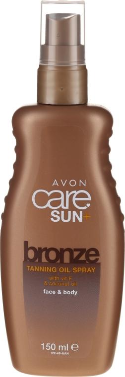 Увлажняющий спрей-масло для тела - Avon Sun Care