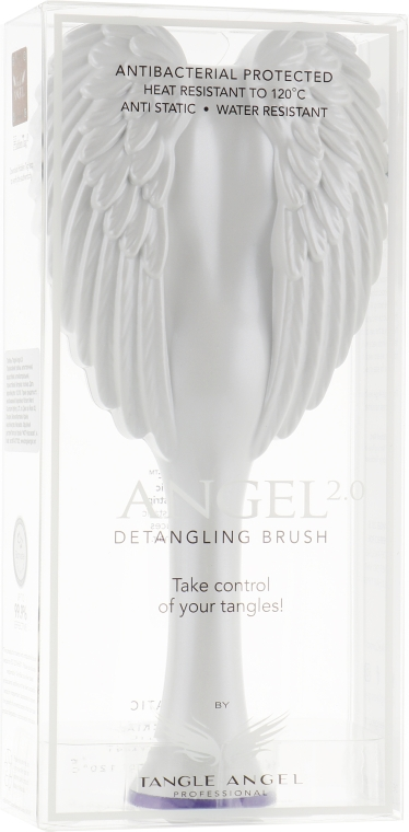 Расческа для волос - Tangle Angel 2.0 Detangling Brush White