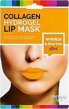 Духи, Парфюмерия, косметика Коллагеновая гидрогелевая маска для губ - Beauty Face Collagen Hydrogel Lip Mask