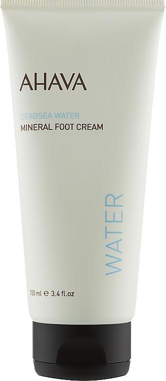 Минеральный крем для ног - Ahava Deadsea Water Mineral Foot Cream