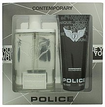 Духи, Парфюмерия, косметика Police Contemporary - Набор (edt/100ml + sh/gel/100ml)