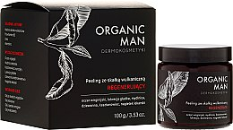 Духи, Парфюмерия, косметика Восстанавливающий пилинг с вулканической породой - Organic Life Dermocosmetics Man