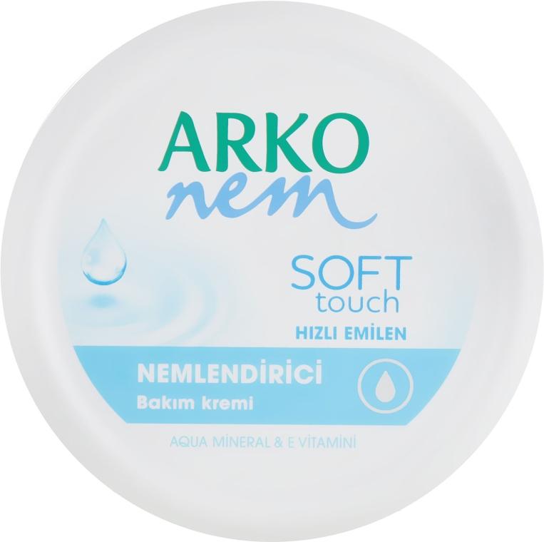 Увлажняющий крем для лица и тела - Arko Nem Soft Touch