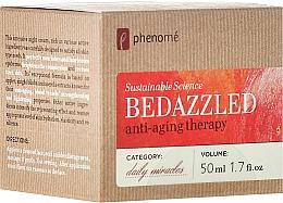 Духи, Парфюмерия, косметика Восстанавливающий ночной крем - Phenome Sustainable Science Bedazzled Anti-Aging Therapy