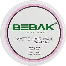 Духи, Парфюмерия, косметика Матовый воск для укладки волос - Bebak Laboratories Matte Hair Wax
